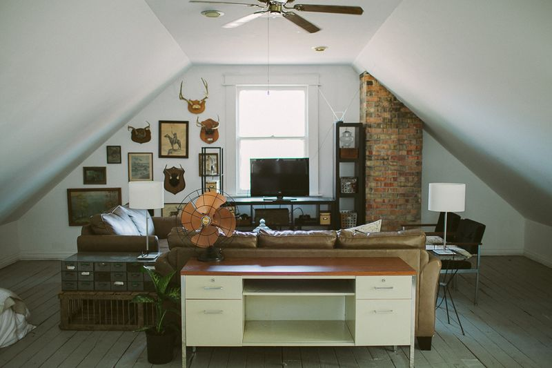 The perfect attic office