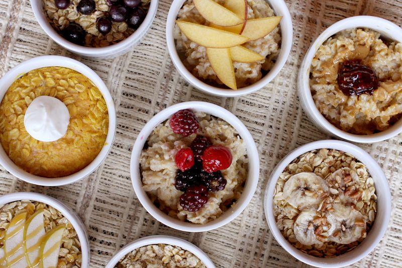 Baked oatmeal 9 ways