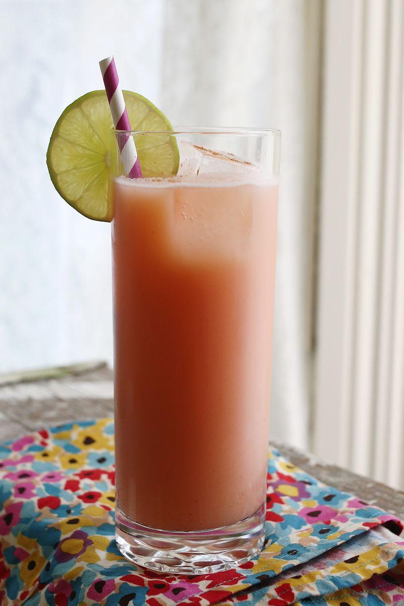Cinnamon Mai Tai Recipe abeautifulmess.com