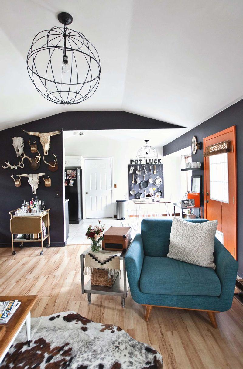 Emma's living room tour abeautifulmess.com
