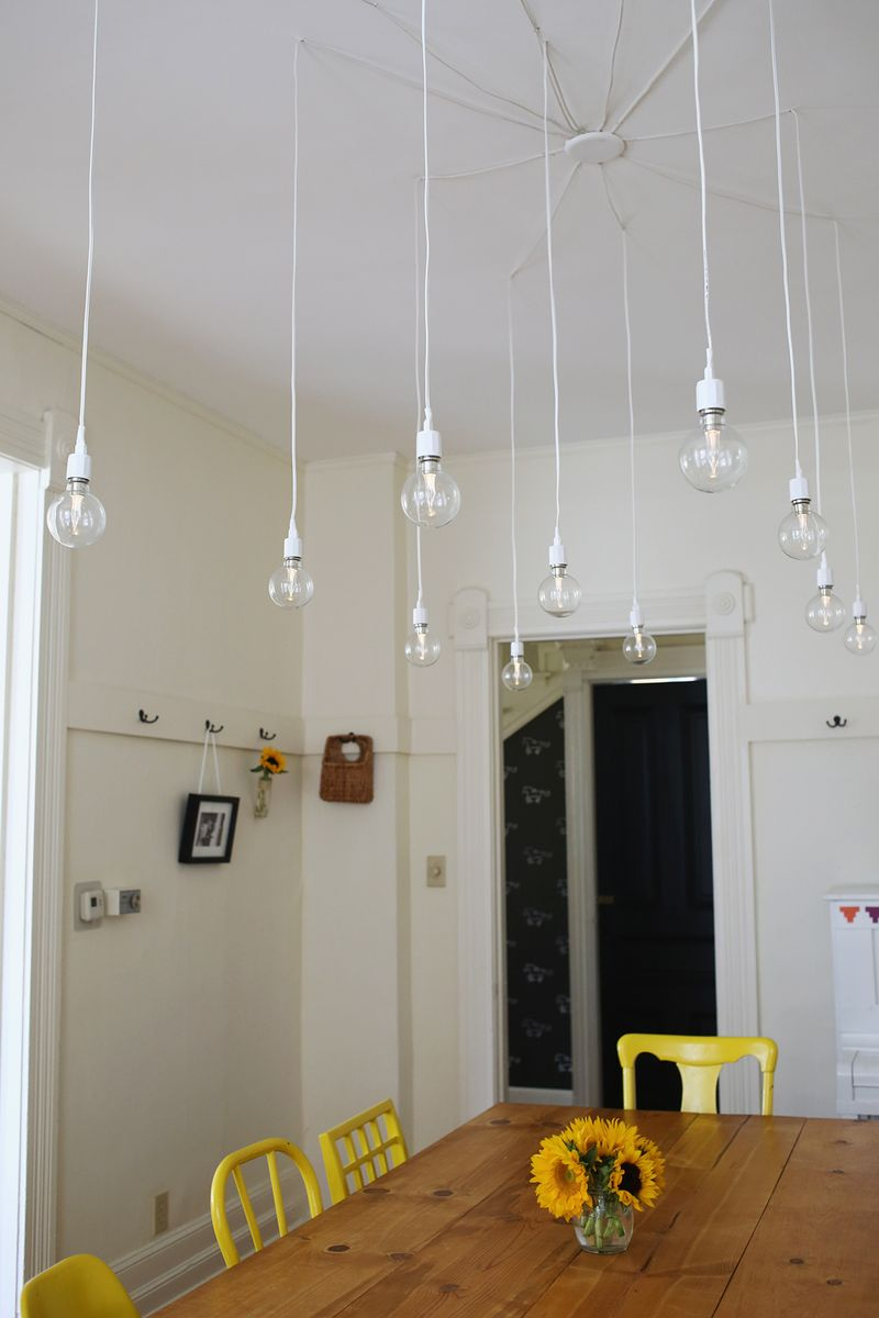 Elsies dream diy light fixture a beautiful mess