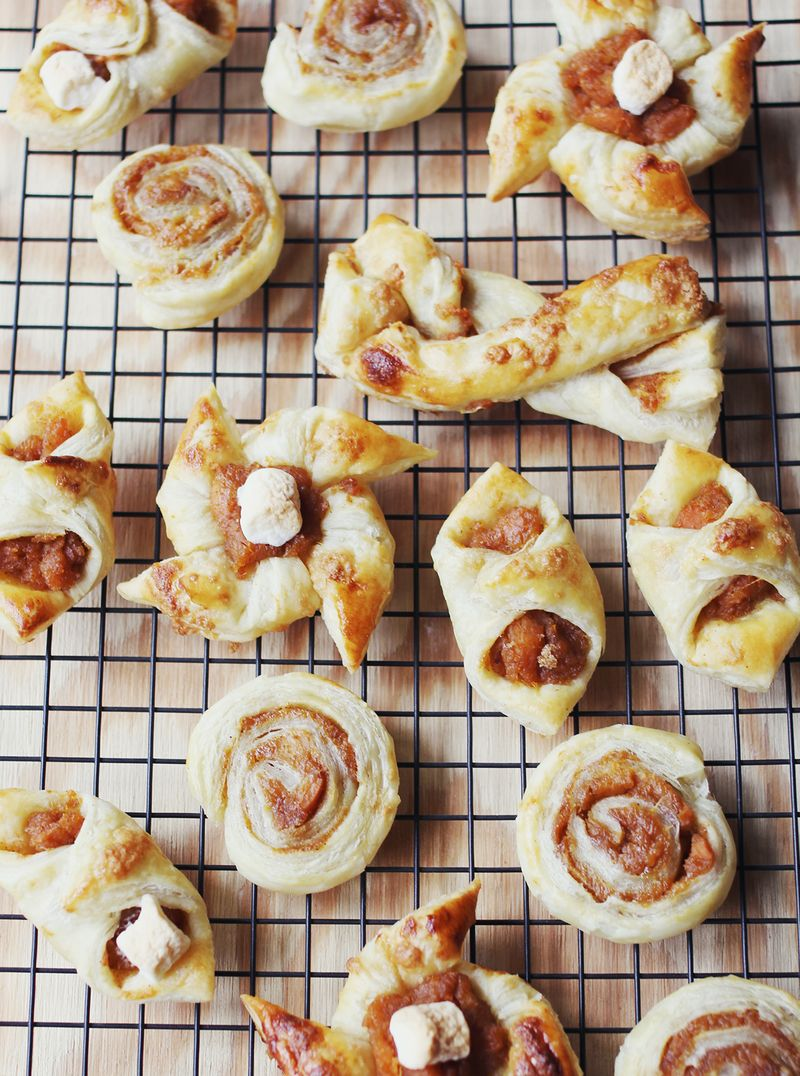 Super easy sweet potato danish