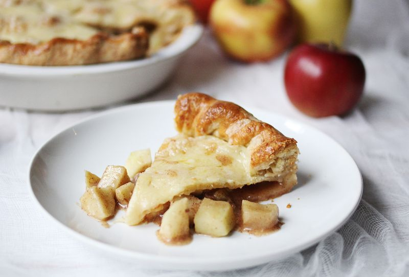 Try this-cheesy apple pie