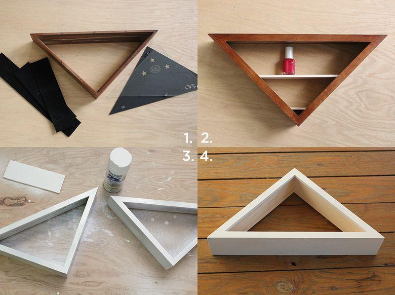 How to make a nail polish organizer