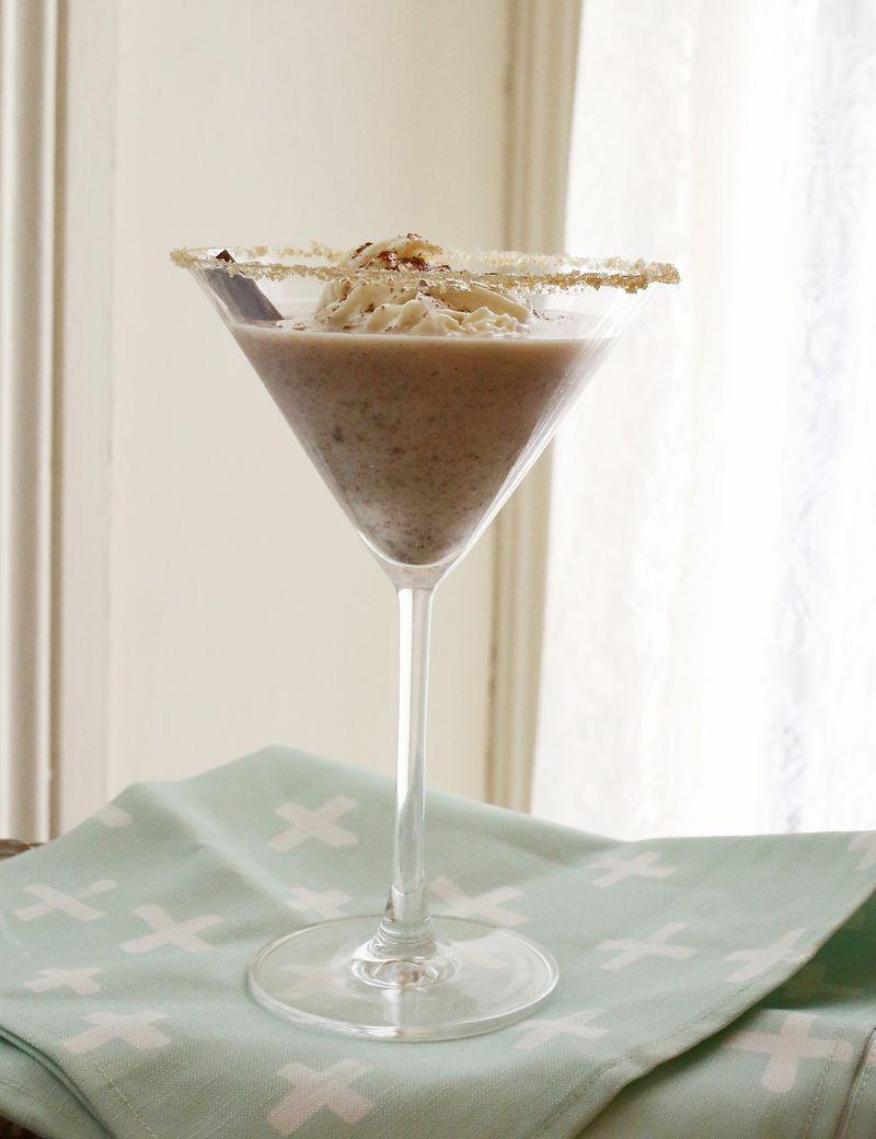 Chai Martini (click through for the full recipe!)