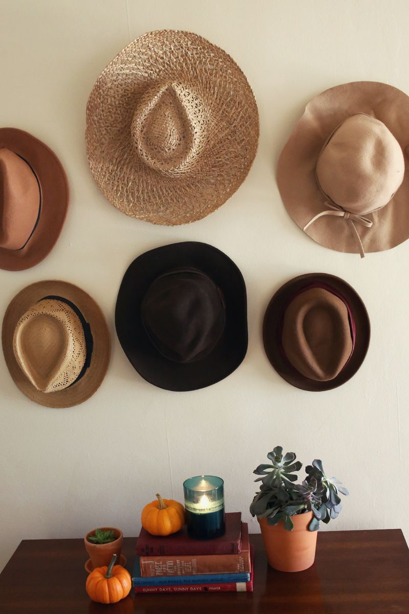 Try This Hats In Place Of Art A Beautiful Mess