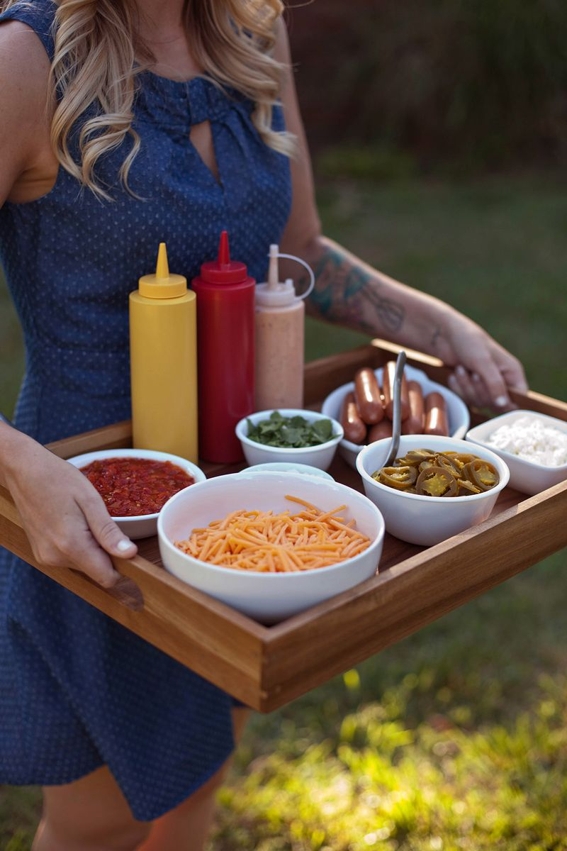 Tips for making a hot dog bar