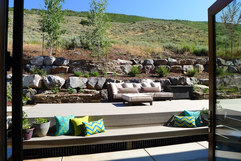 Such an incredible patio area!