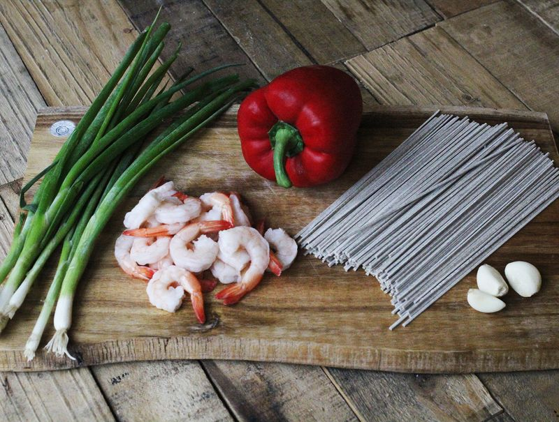Warm soba noodle recipe
