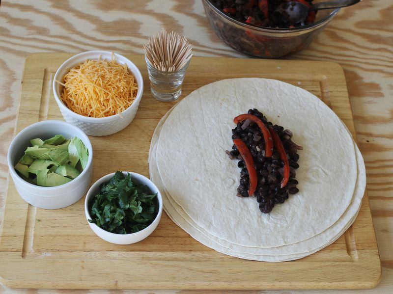 Southwestern fried burrito recipe