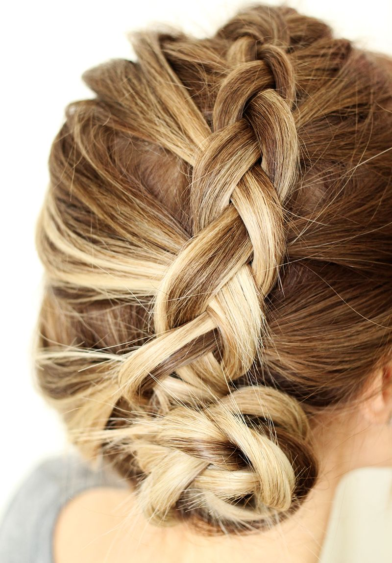 Lovely dutch braid DIY