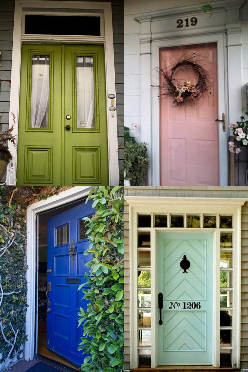 Front Door Inspirations!