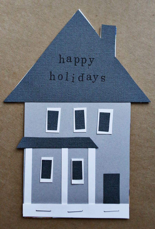 Homemade Holiday Card! (click through for DIY details!)