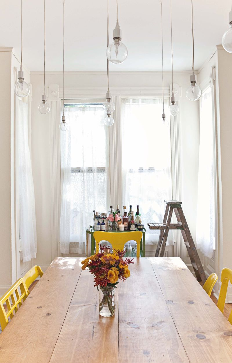 Elsie Larson's Dining Room Tour