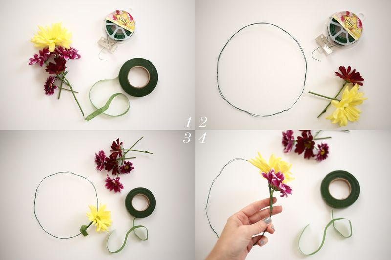 How To Make A Fresh Flower Crown A Beautiful Mess