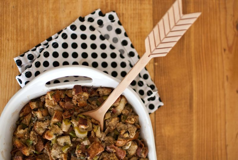 Bacon and Bourbon Stuffing