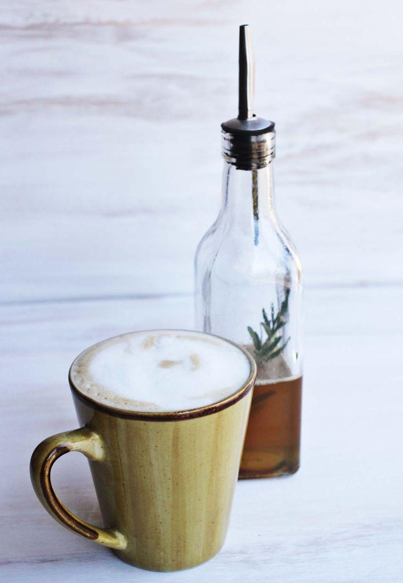 Rosemary latte abeautifulmess.com