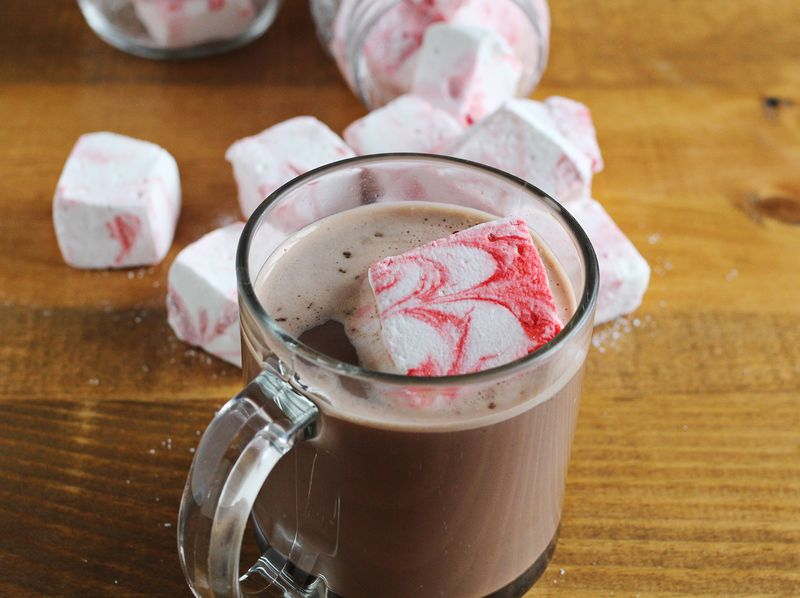 Peppermint marshmallows!