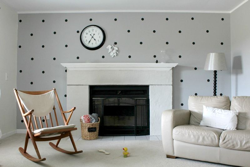 Darling dots on the wall