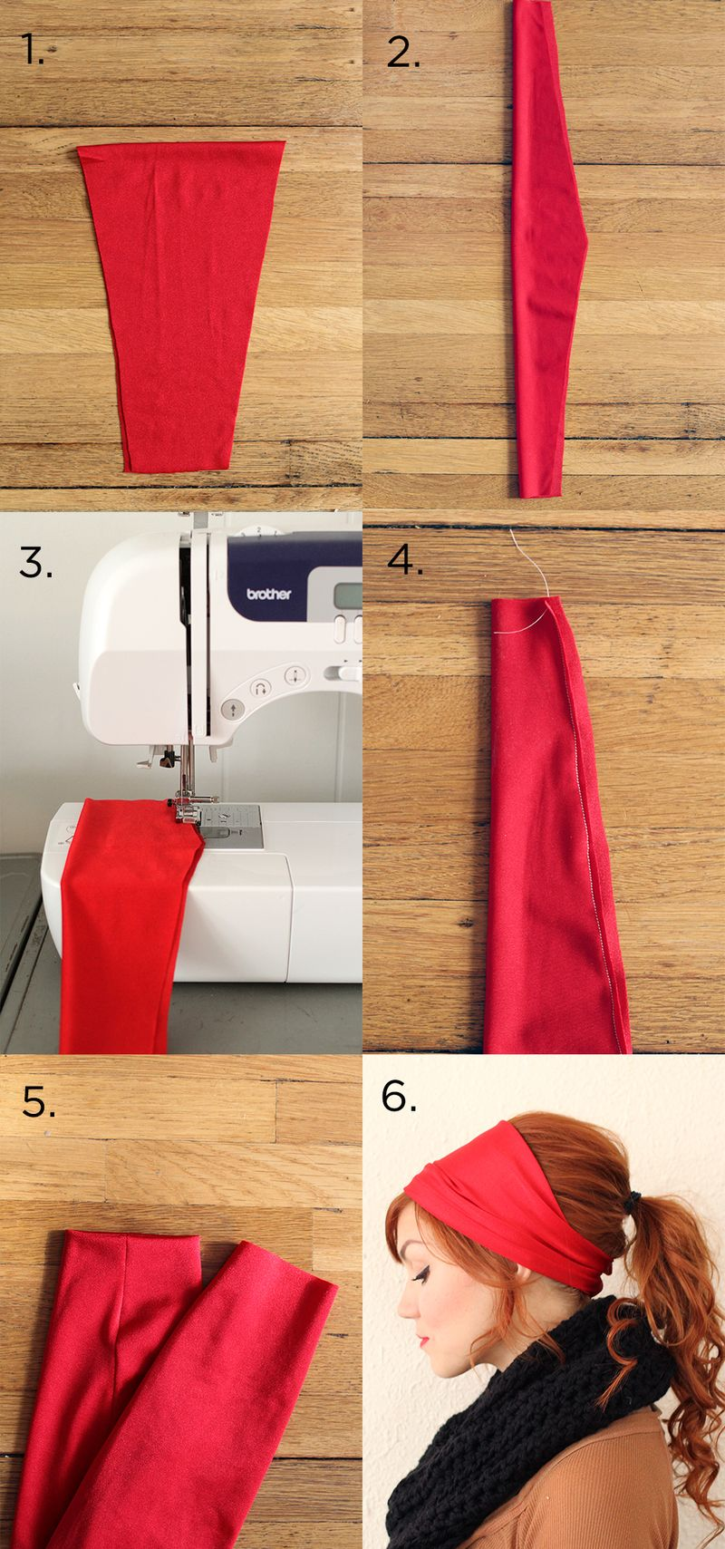 Fancy headband tutorial