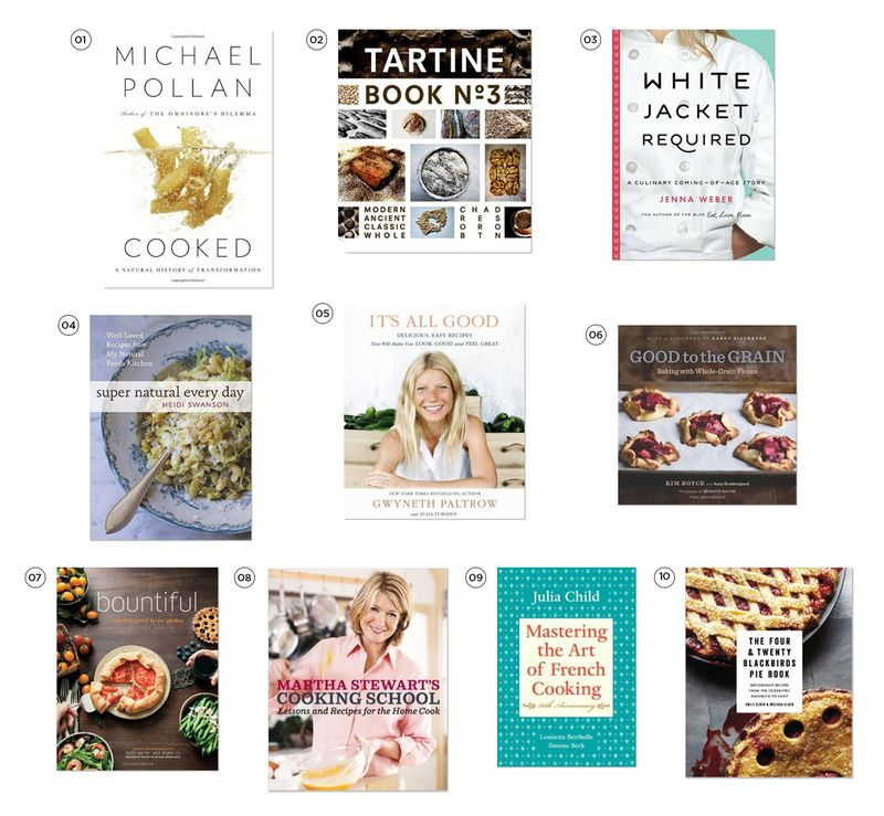 Cook book gift guide