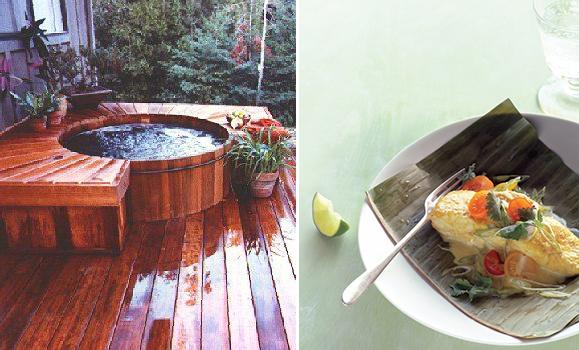 Hot tub decks and vacation dreaming
