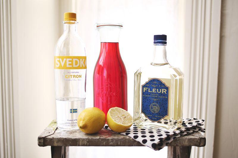 Lemonberry Martini abeautifulmess.com