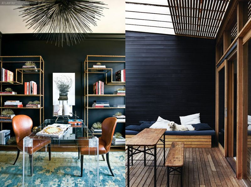 Black room inspiration