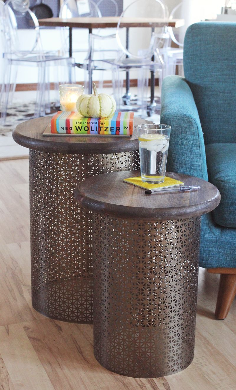 Diy retro style side table