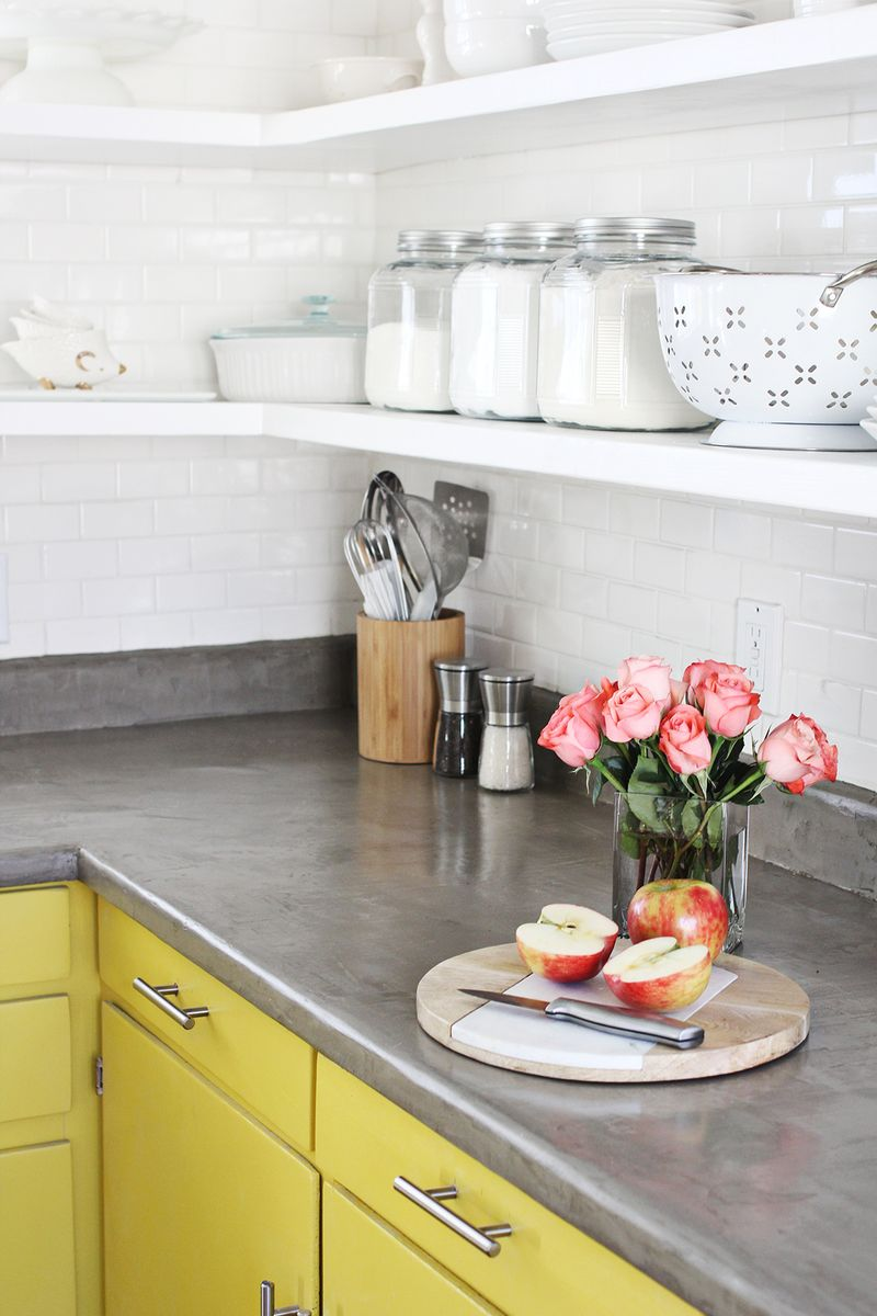 Concrete Countertop DIY - A Beautiful Mess