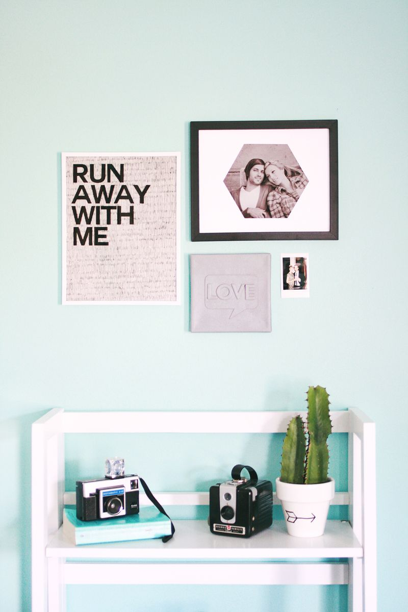 Three wall art ideas