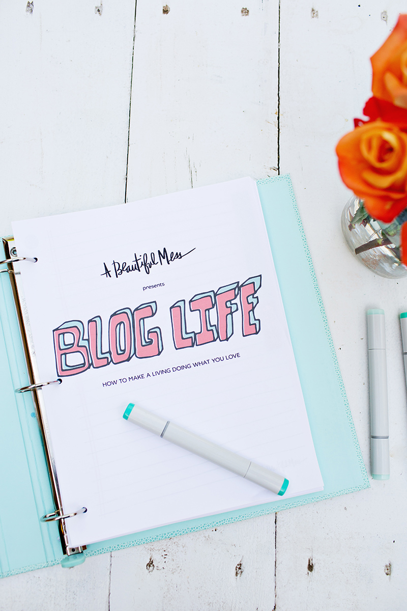 Blog Life E-Course Printables