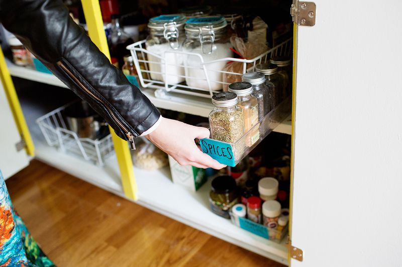 Tips for organizing your kitchen cabinets