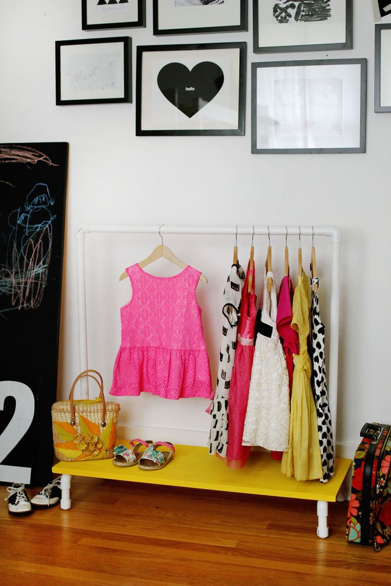 Kids Clothes Rack Diy A Beautiful Mess