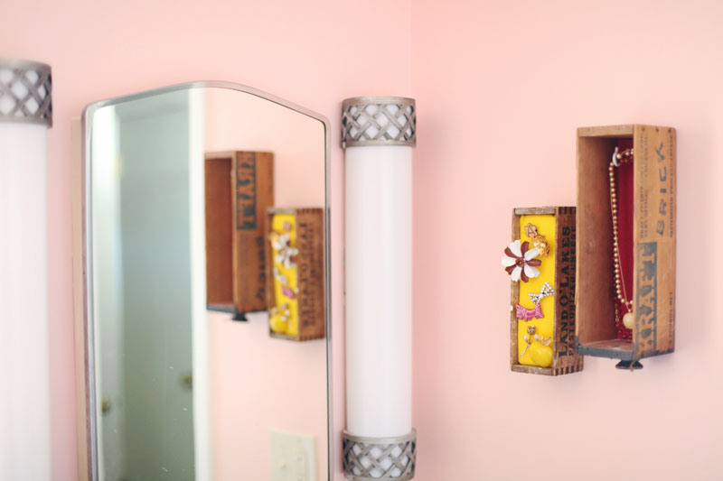 Transform antique boxes into a beautiful jewelry display!