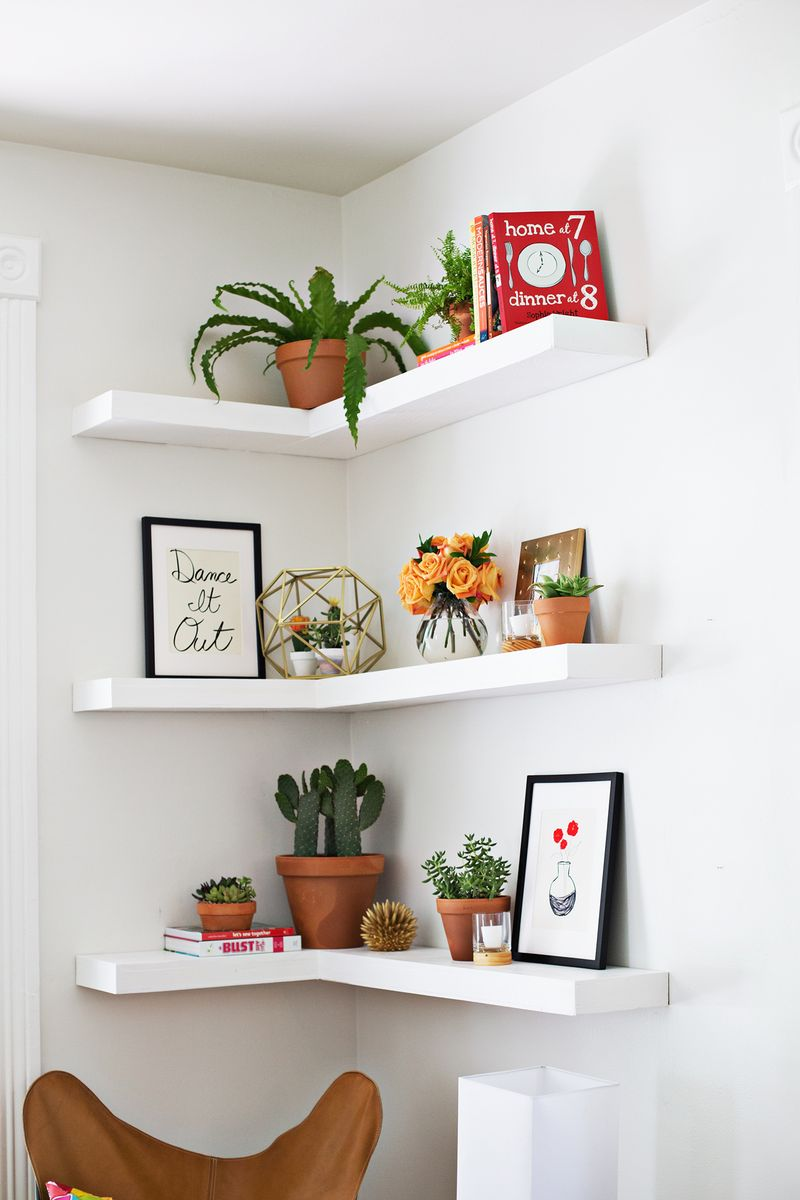 Floating Shelves Space Saving Storage