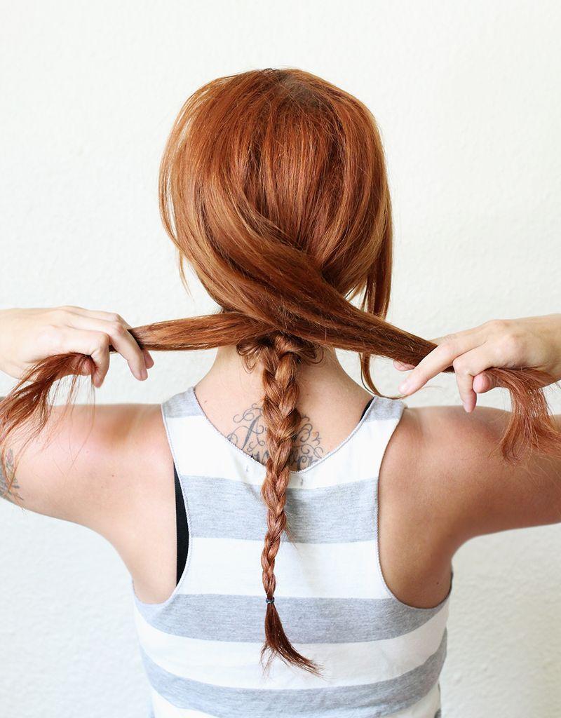 Step 2- Textured Summer Braid DIY
