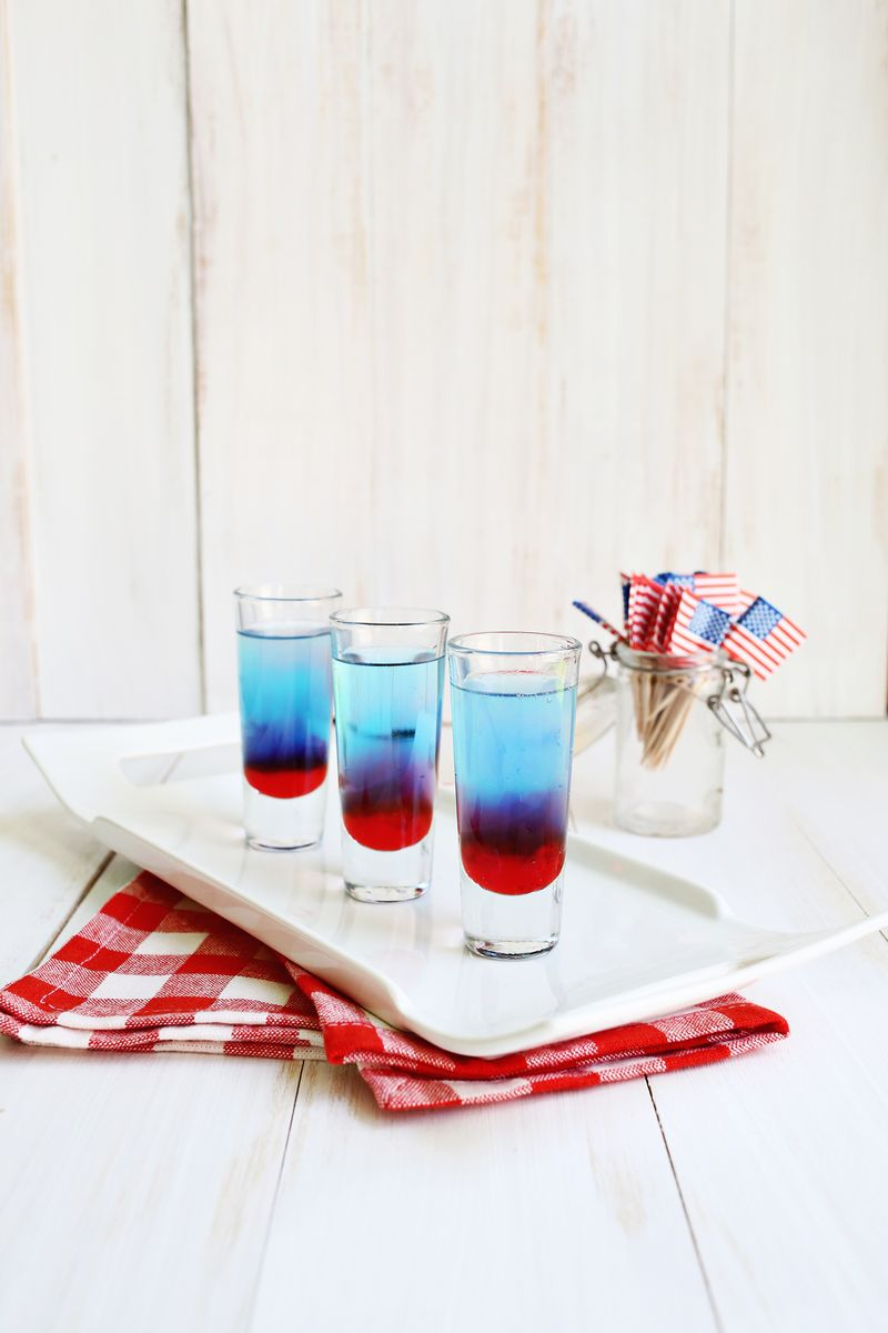 Bomb Pop Shots - A Beautiful Mess