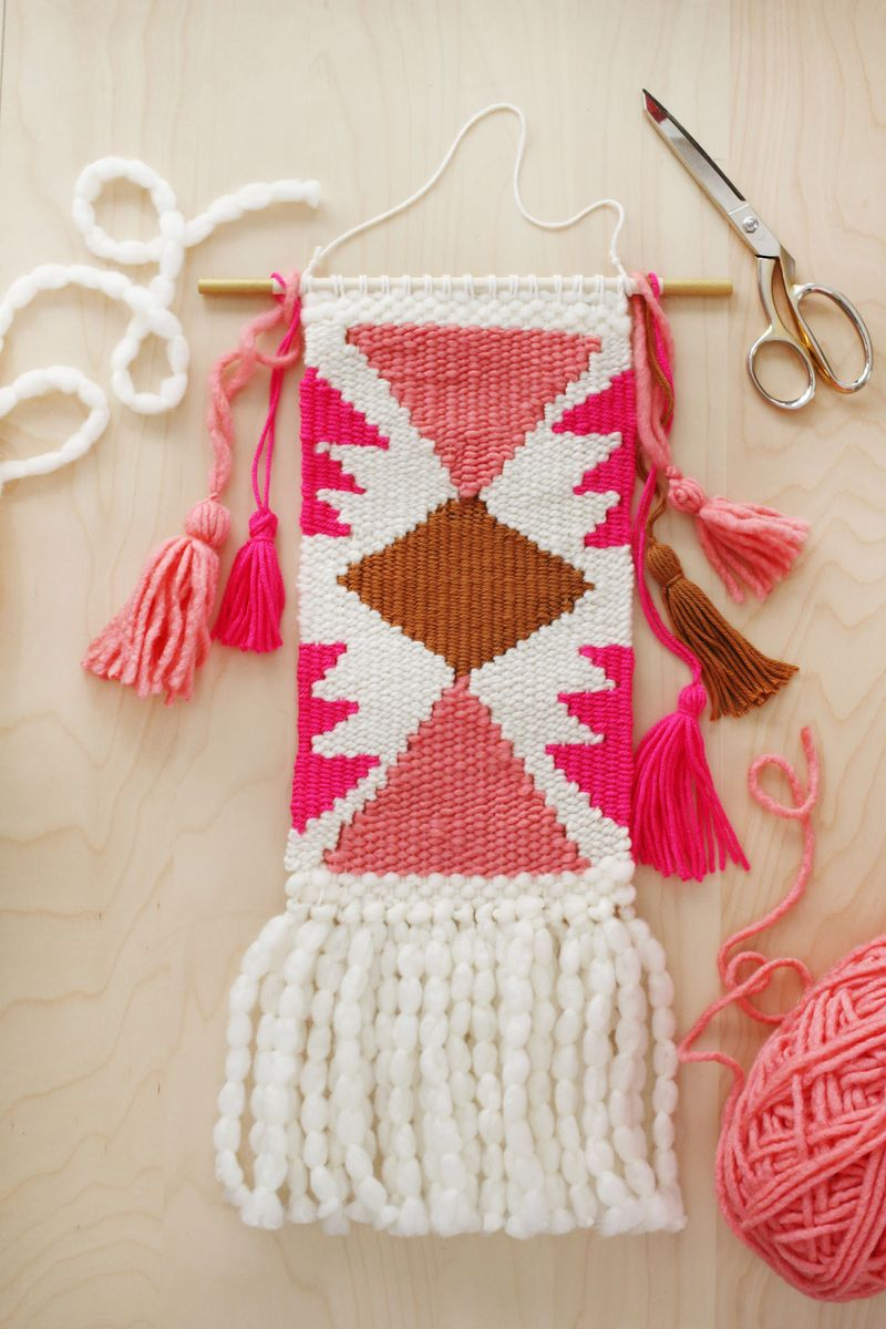 Weaving Class- Making Shapes and Getting Fancy