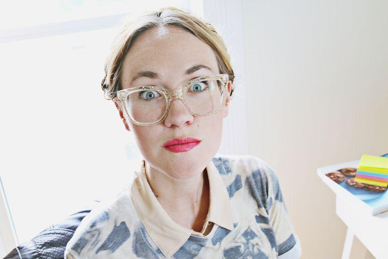 Sparkle glasses