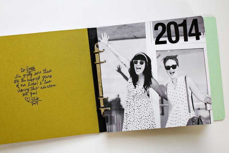 A Fun Gift Idea Sister Photo Book Click Through For DIY Details
