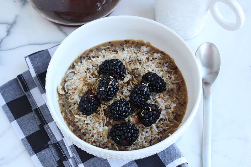 Easy breakfast quinoa