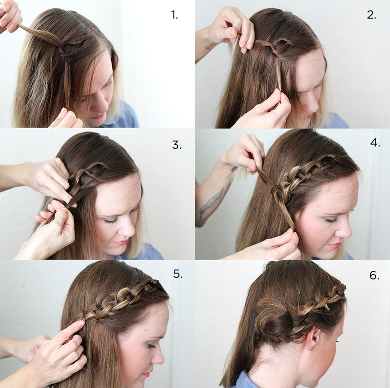 Fabulous How To Style A Chain Braid A Beautiful Mess Schematic Wiring Diagrams Phreekkolirunnerswayorg