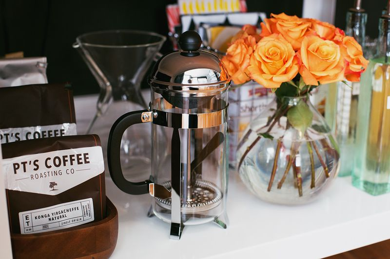 How To Stock Your Own Coffee Cart abeautifulmess.com