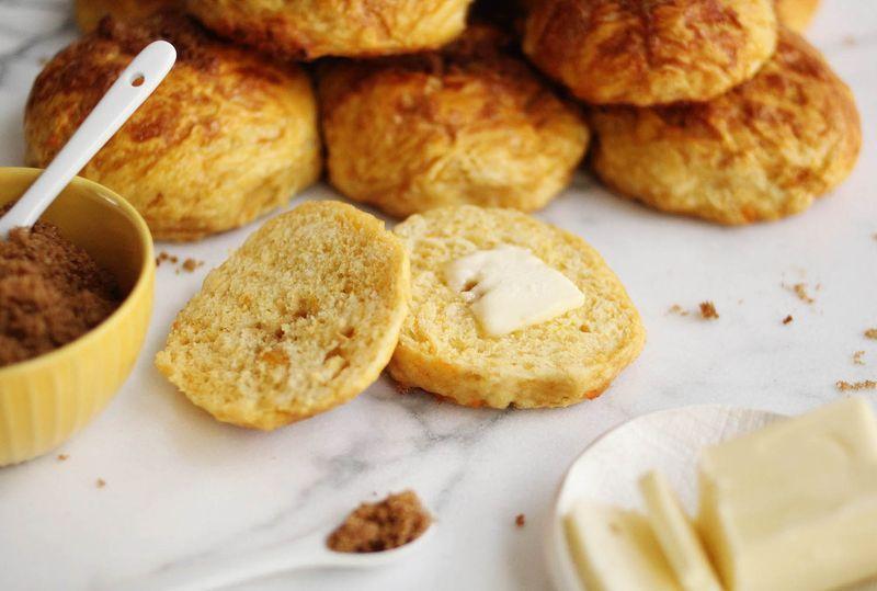 Sweet potato bagels