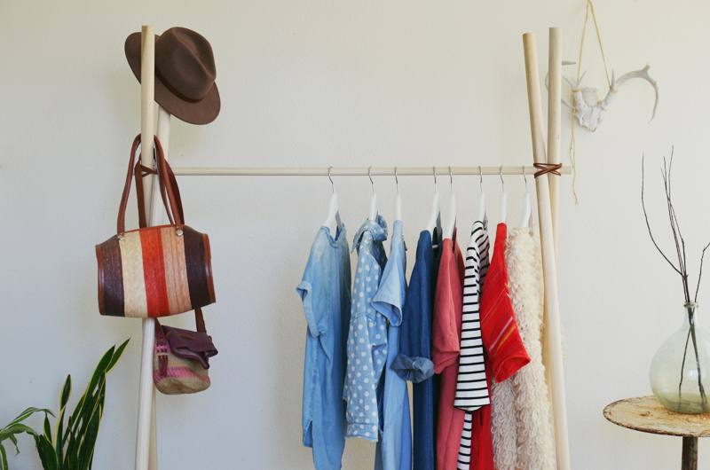 Diy Clothing Rack A Beautiful Mess