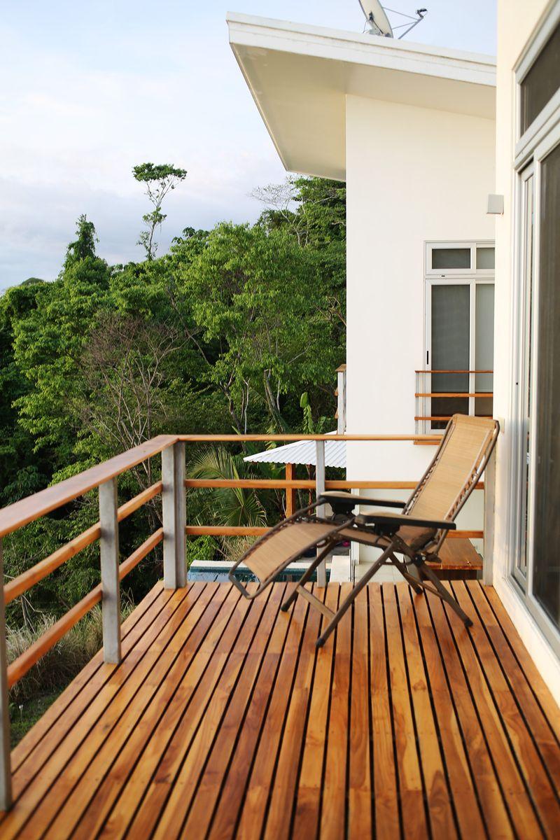 Bedroom deck
