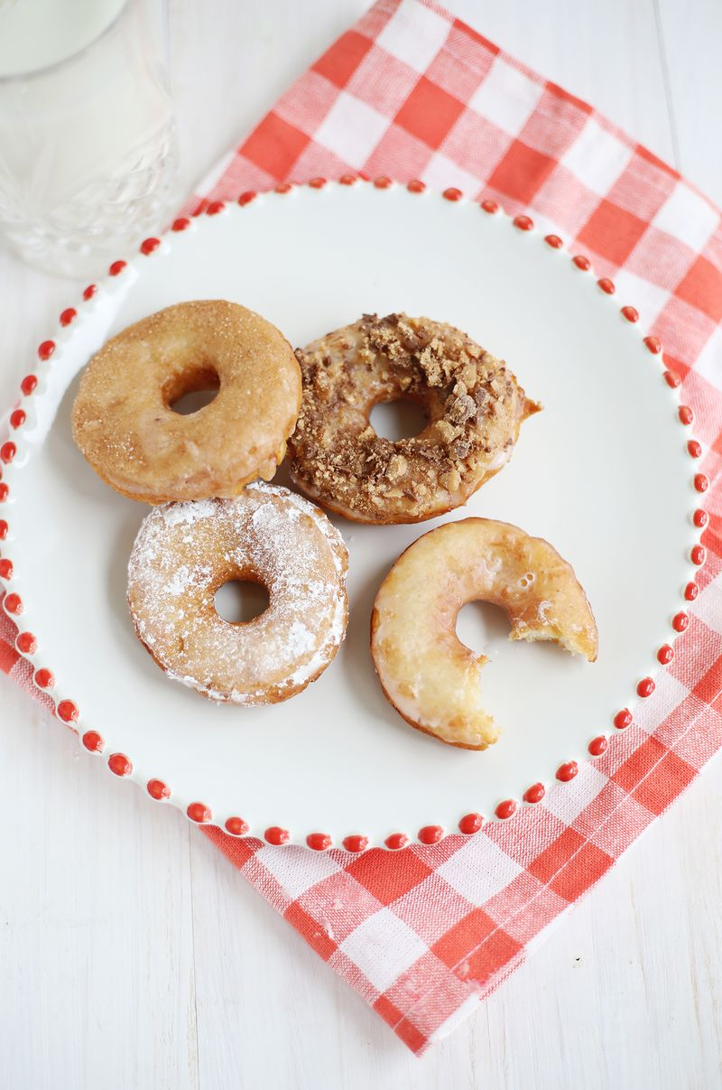 Potato donuts via A Beautiful Mess