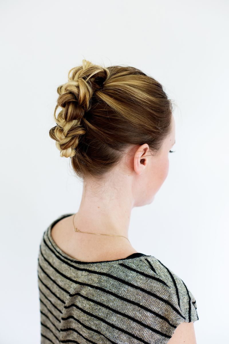 Tucked Braid Updo (click through for instructions)