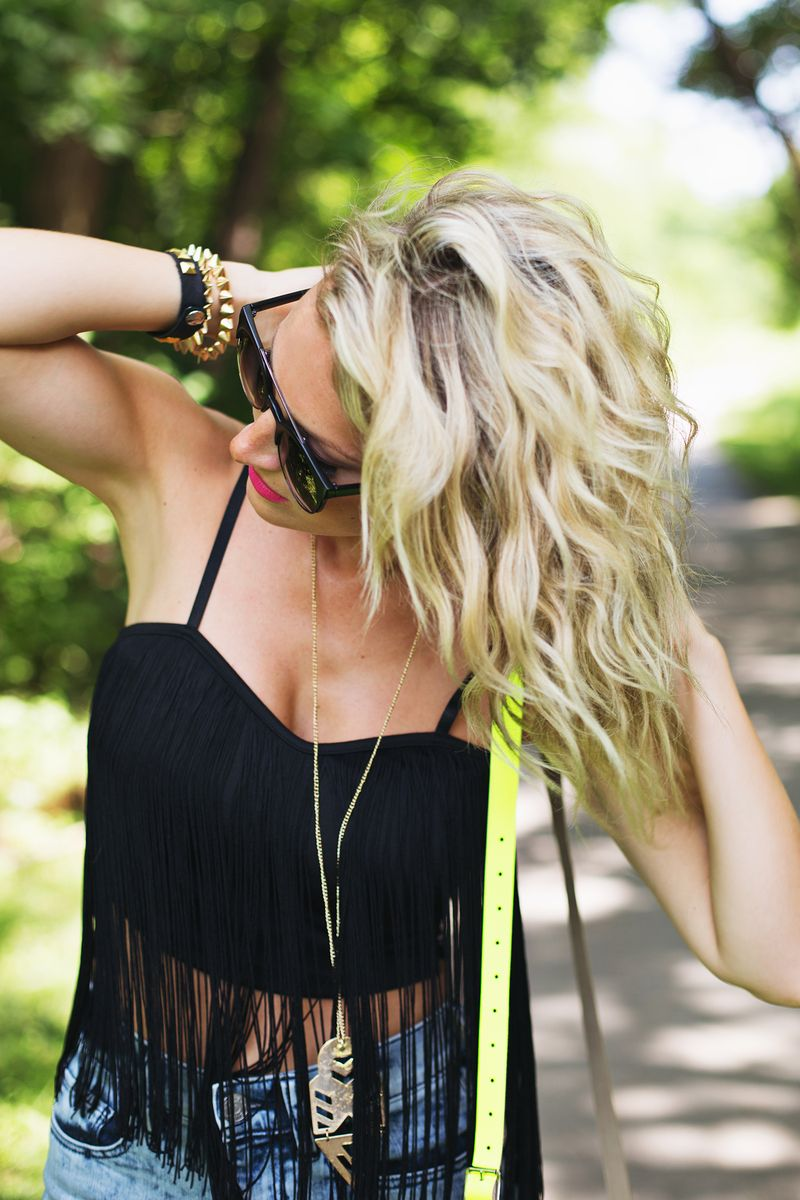 How to Get Awesome Festival Hair (click through for tutorial)